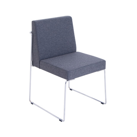 Astoria Dining Chair // Grey Wool (Grey Wool)