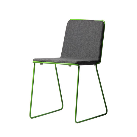 Bleecker Chair (Green Frame)