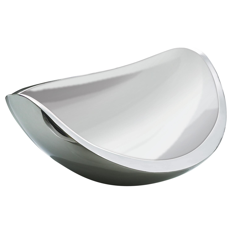 Ninna Nanna Double Wall Bowl Silver Casa Bugatti