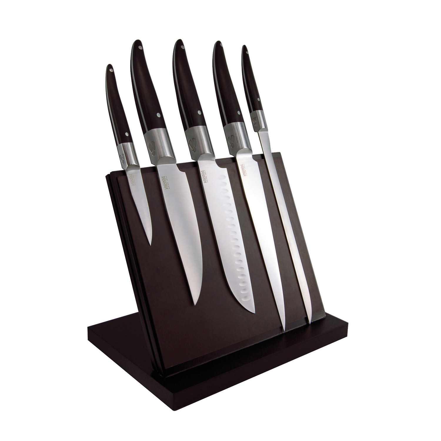 Modern Kitchen Knives laguiole expression kitchen knives // set of 5 - tarrerias-bonjean
