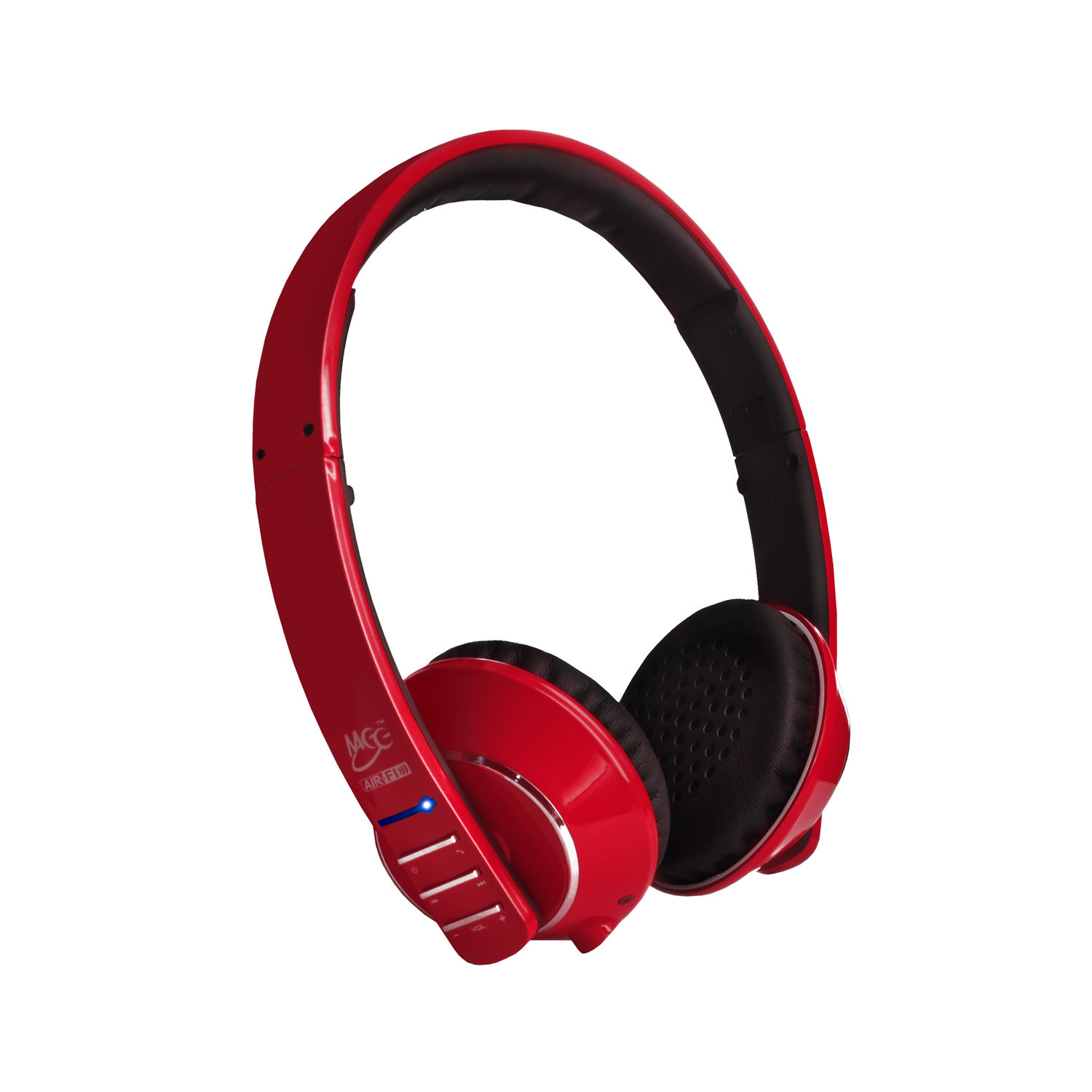 air fi runaway af32 stereo bluetooth headphones red meelectronics touch of modern. Black Bedroom Furniture Sets. Home Design Ideas
