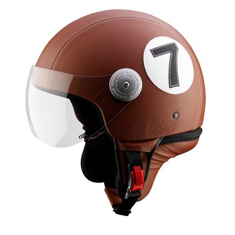 No. 7 Leather Helmet