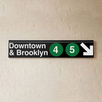Downtown + Brooklyn // 4 + 5 Lines