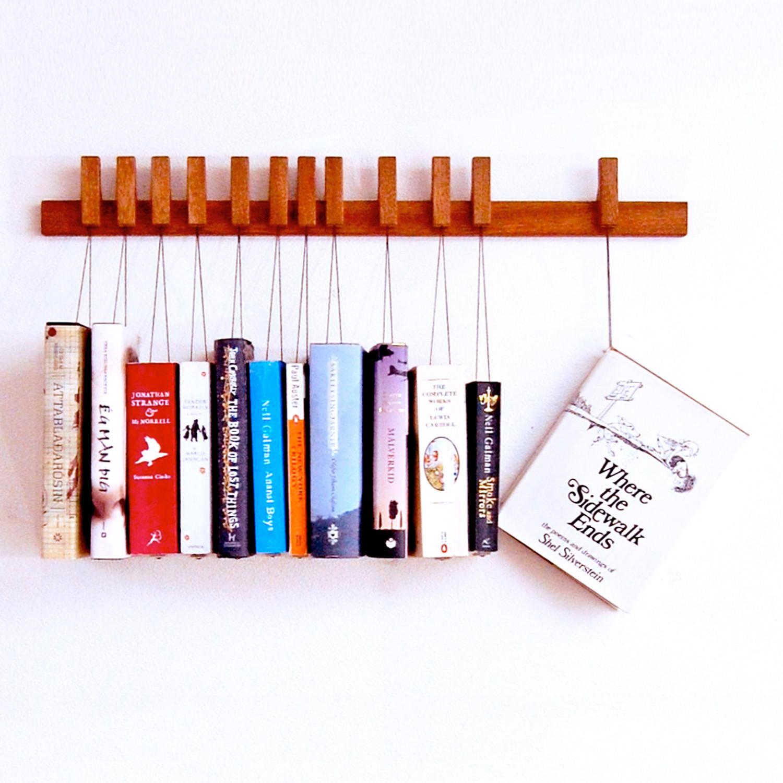 holder design book rack for shelf previous italian market vintage next wooden
