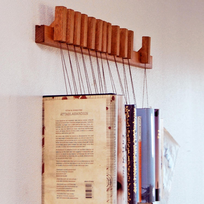 Book Rack // Mahogany