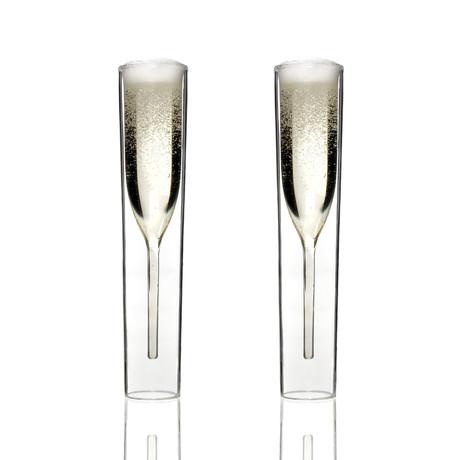 Champagne Glasses // Set of 2