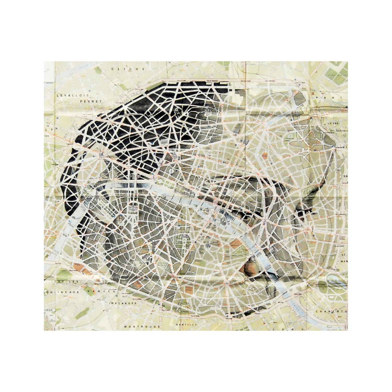 Paris Map Portrait Limited Print Ed Fairburn Touch Of Modern - Modern map of paris