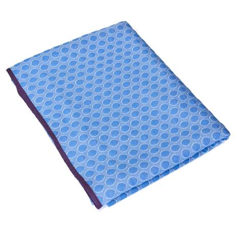 Dots // Blue, Aubergine