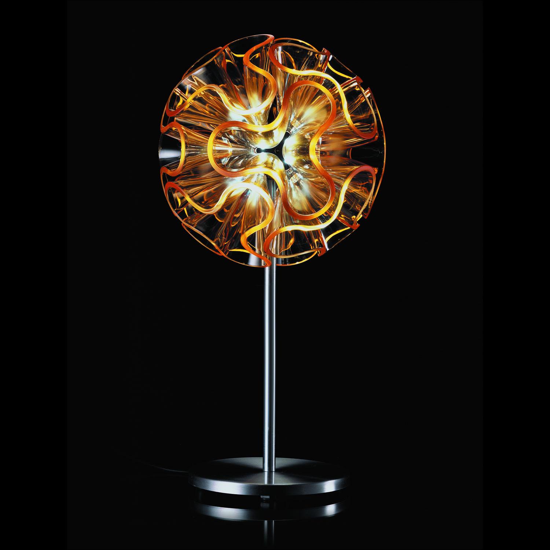 coral table led orange orange modern luminar collection touch of modern. Black Bedroom Furniture Sets. Home Design Ideas