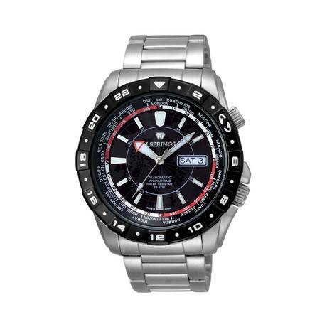 Automatic Travel Men's Watch // JSPBEB055