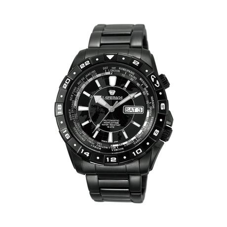 Automatic Travel Men's Watch // JSPBEB058
