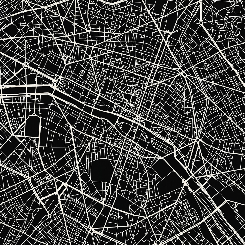 Paris Map Art Print   Mr City Printing   Touch of Modern
