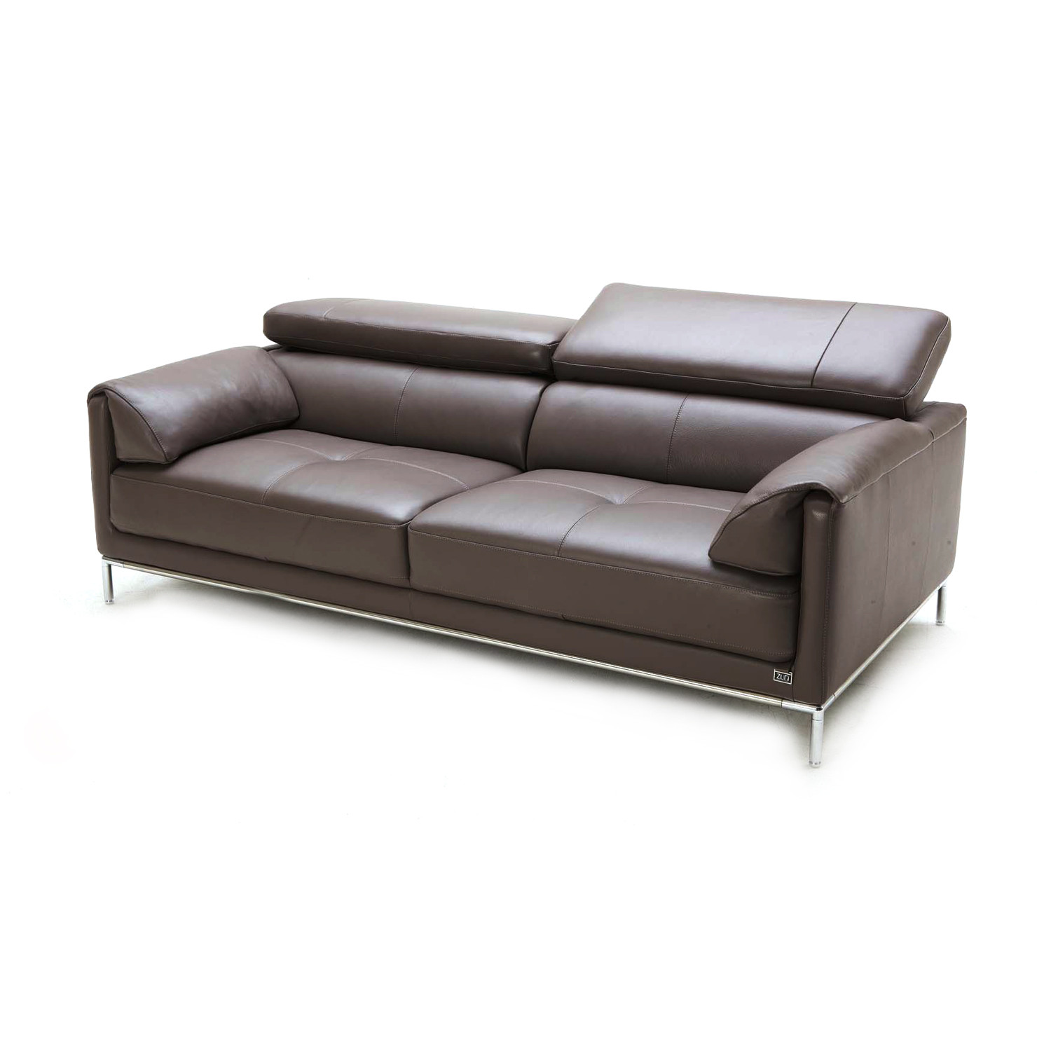 Eaton 2 piece sofa set zuri furniture touch of modern for Two piece sectional sofa sale