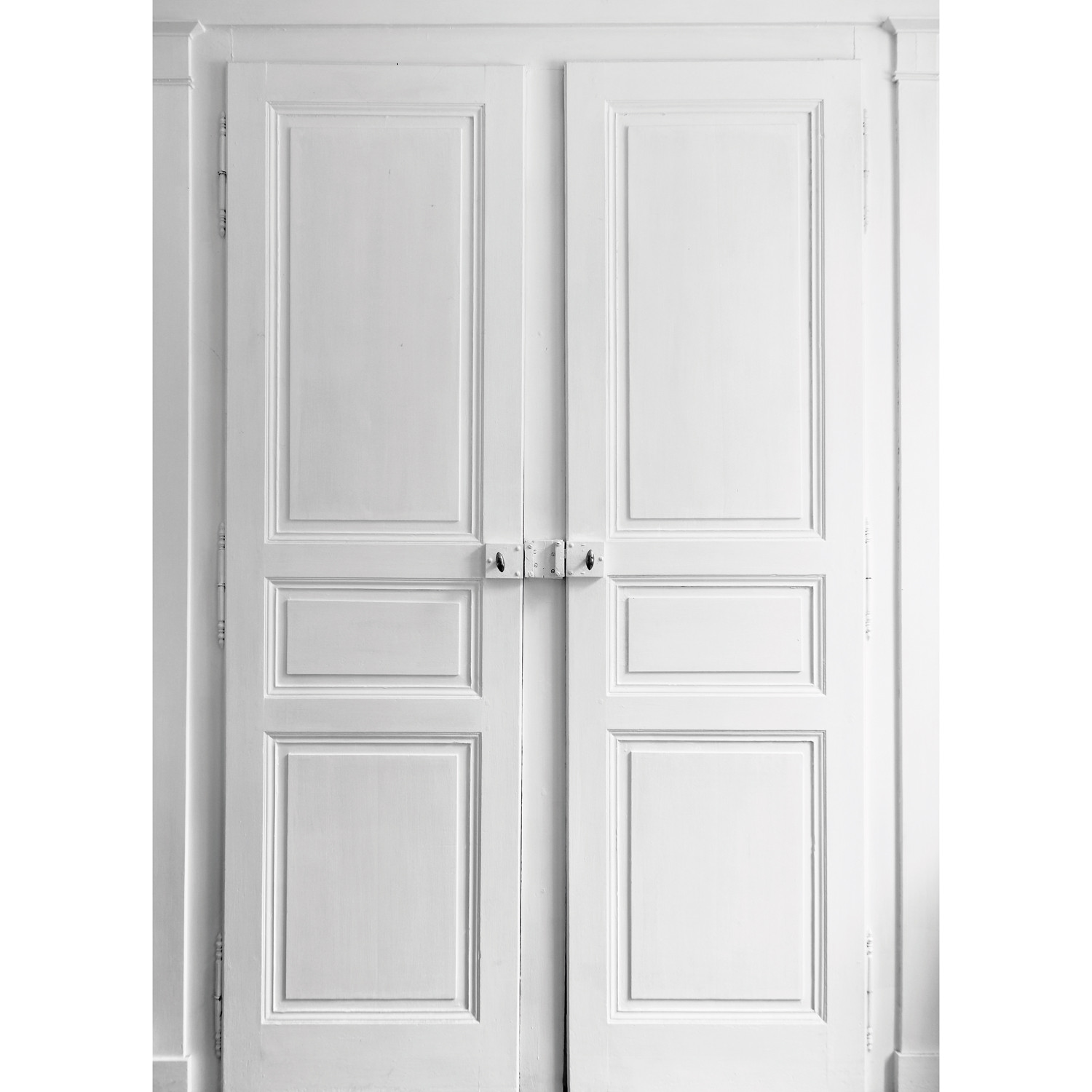 Trompe l 39 oeil double porte ohmywall touch of modern for Porte moderne