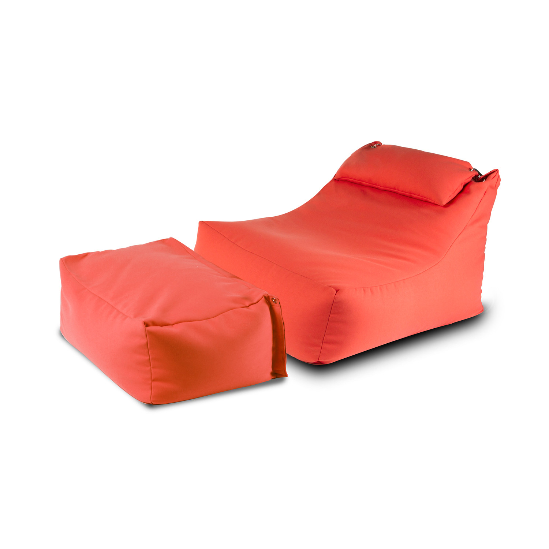 100 [ Outdoor Furniture Bean Bag Ottomans ]