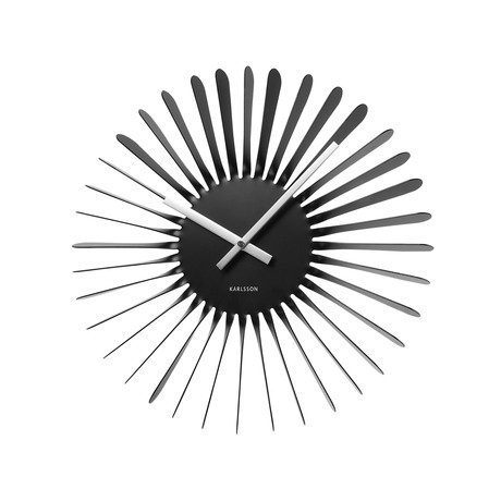 Karlsson by present time inc not your conventional clock touch of modern - Spirograph clock ...