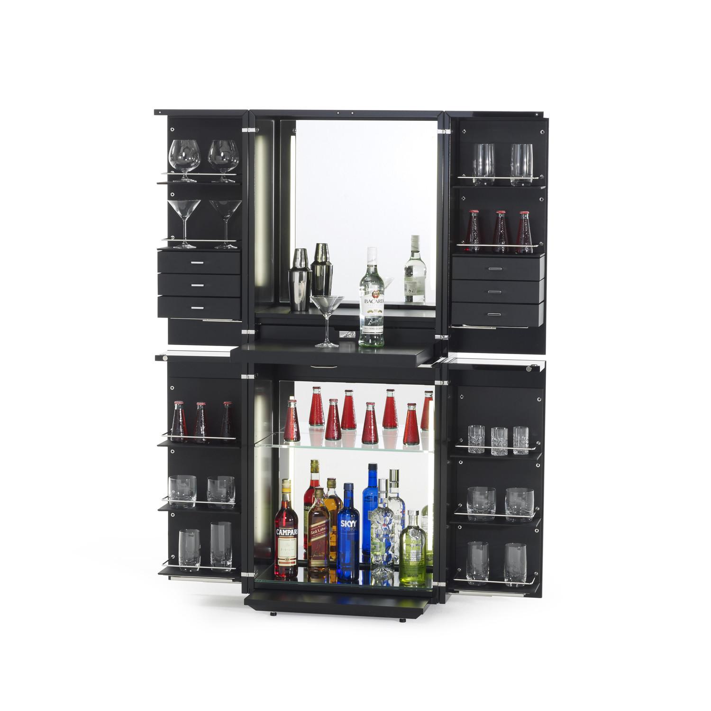 Magic cube bar glossy lacquer snow white the for Muebles de bar para casa