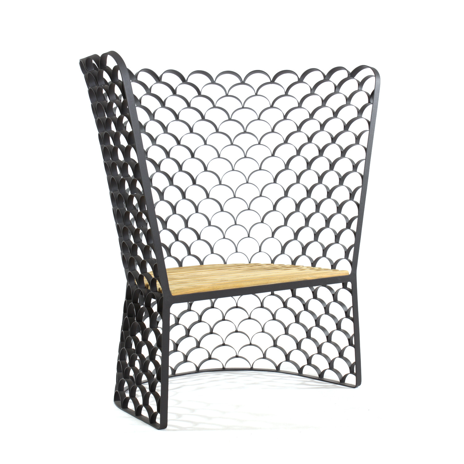 Koi high back chair innermost furniture touch of modern for Koi furniture