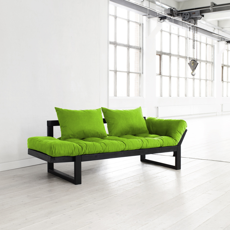 fresh futon  edge (orange natural frame)  fresh futon  touch  - fresh futon  edge (orange natural frame)