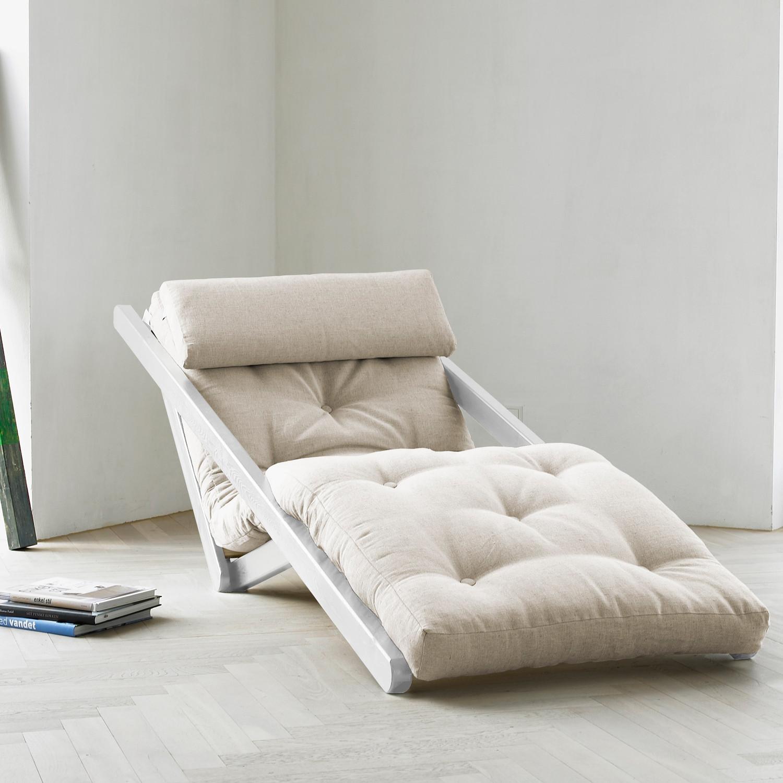 fresh futon  shape shifters  touch of modern - fresh futon  figo (natural white frame)