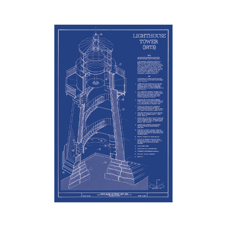 Old Blueprints - American Architectural Classics - Touch of Modern