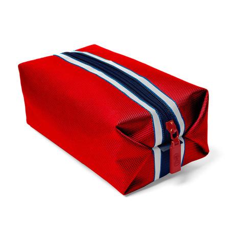 Nutz & Boltz Nylon Bag // Red & White & Blue