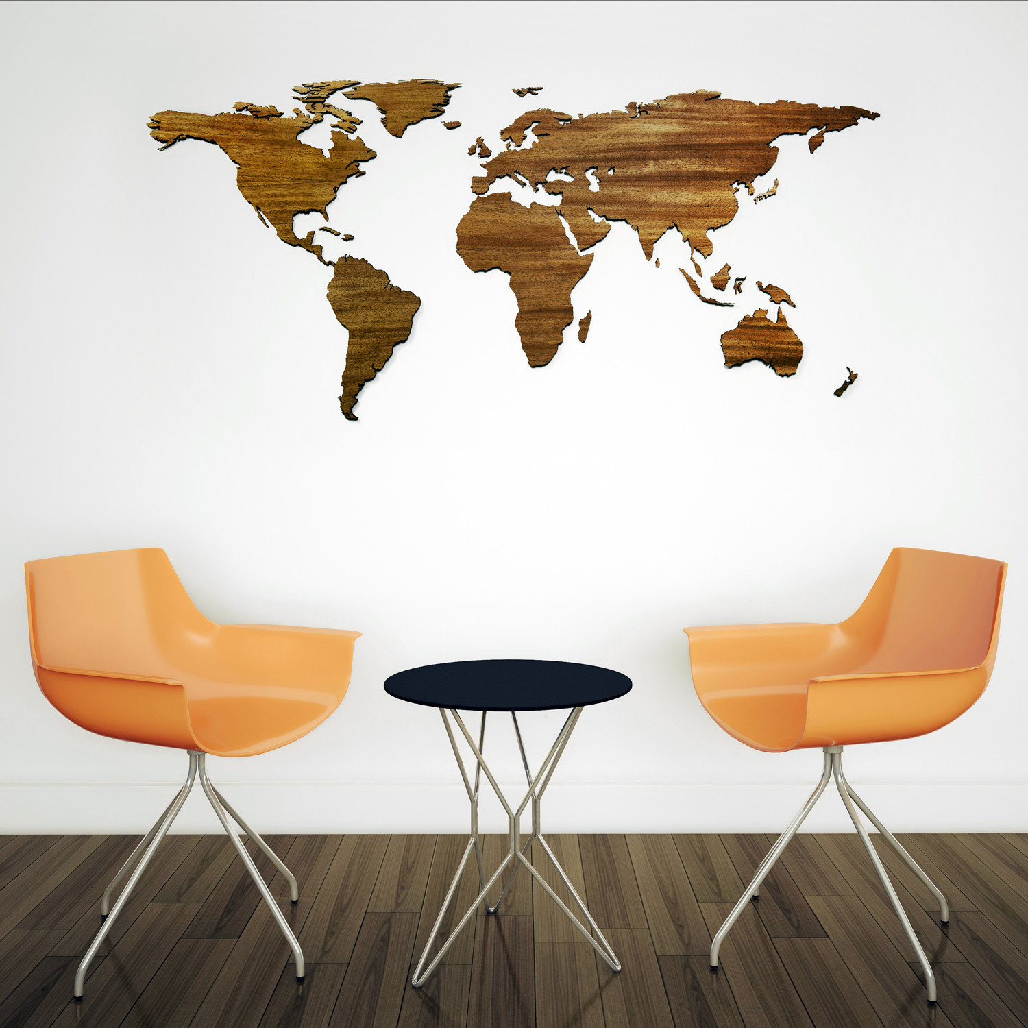 Modern Day World Map.Exotic Hardwood World Map Father S Day Sale Touch Of Modern