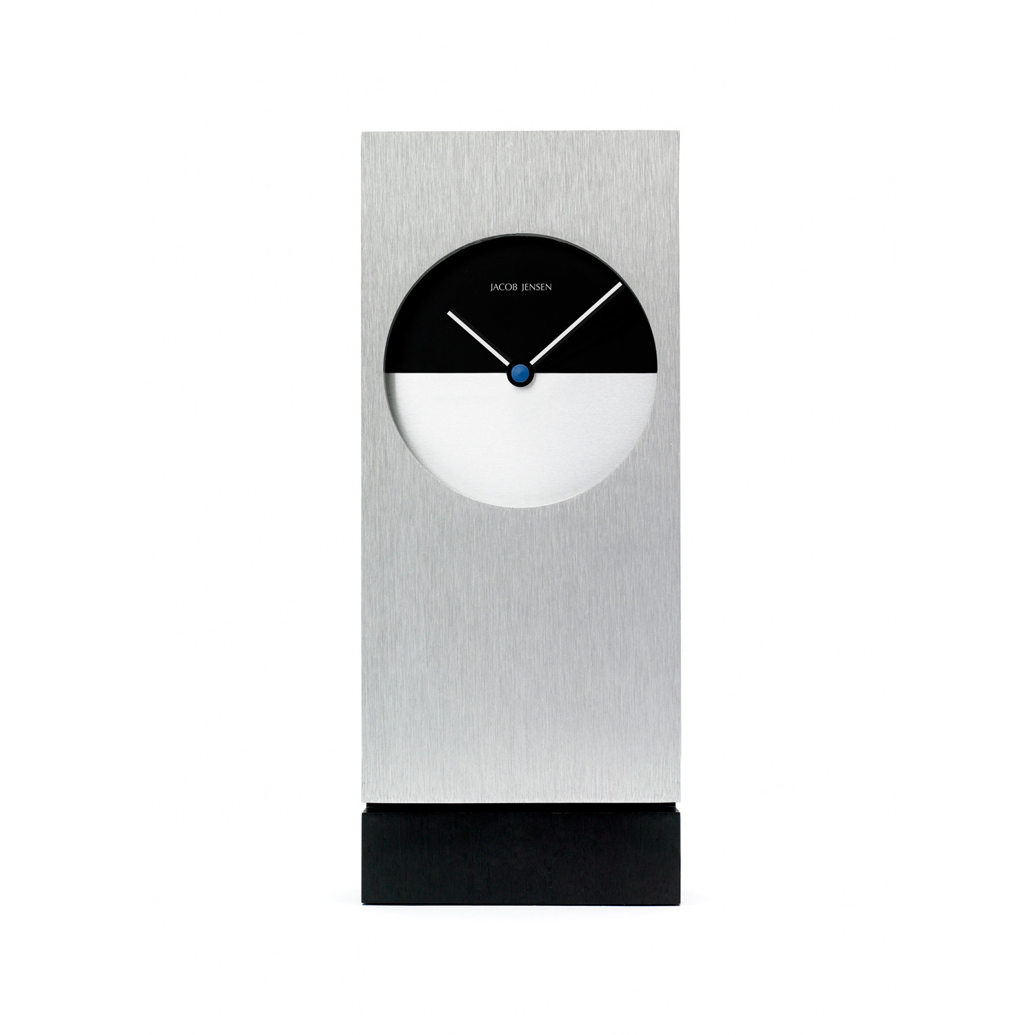 classic desk clock jacob jensen wall clocks touch of modern. Black Bedroom Furniture Sets. Home Design Ideas
