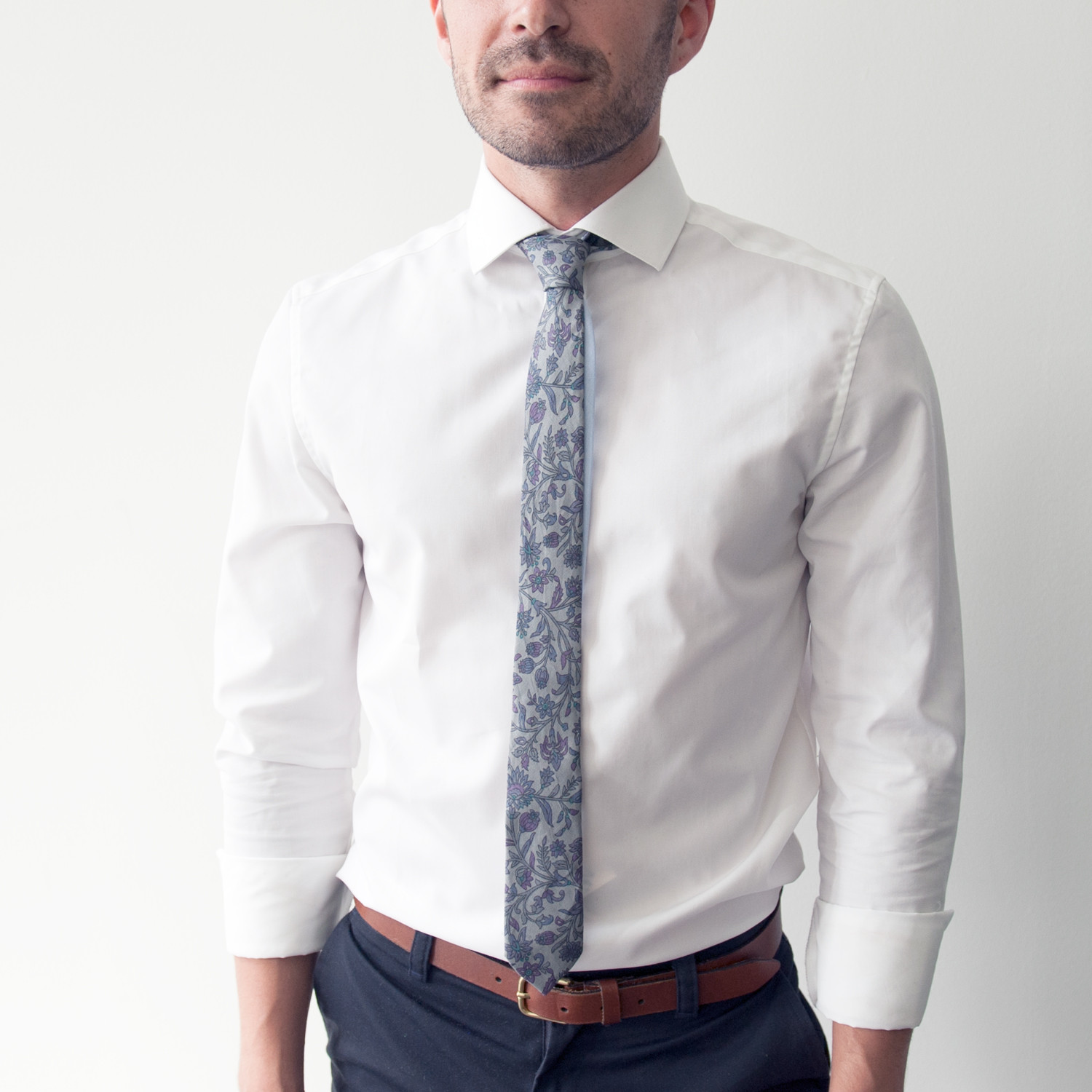 The Mike Skinny Tie Bo Clothing Touch Of Modern