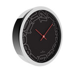 Chrome Wall Clock // W303S20BB