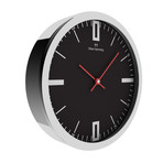 Chrome Wall Clock // W303S45B