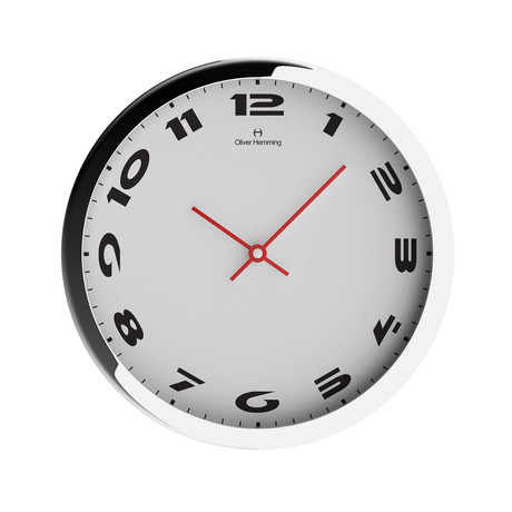 Chrome Wall Clock // W303S49W