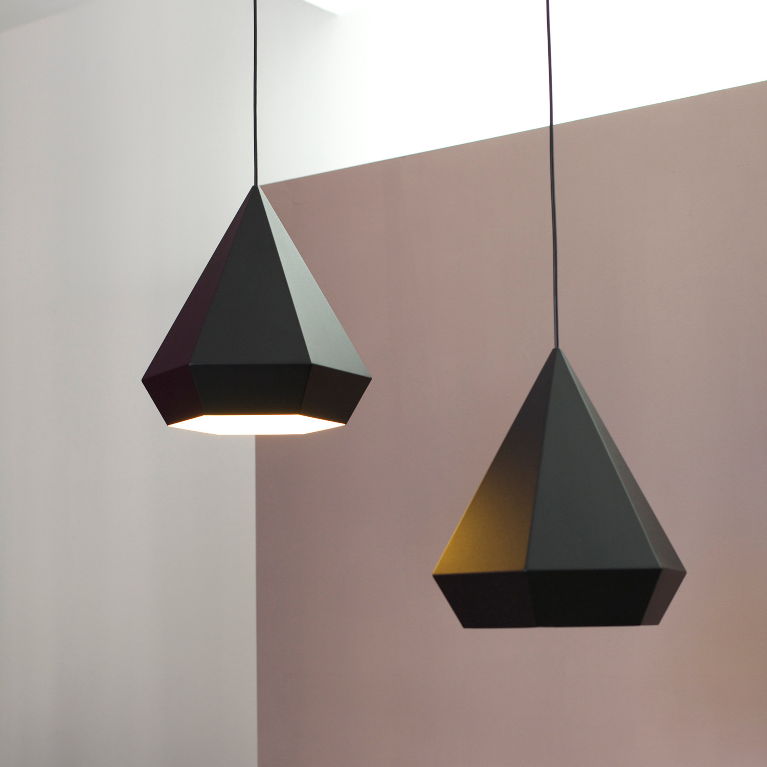 Diamond Lamp // Black