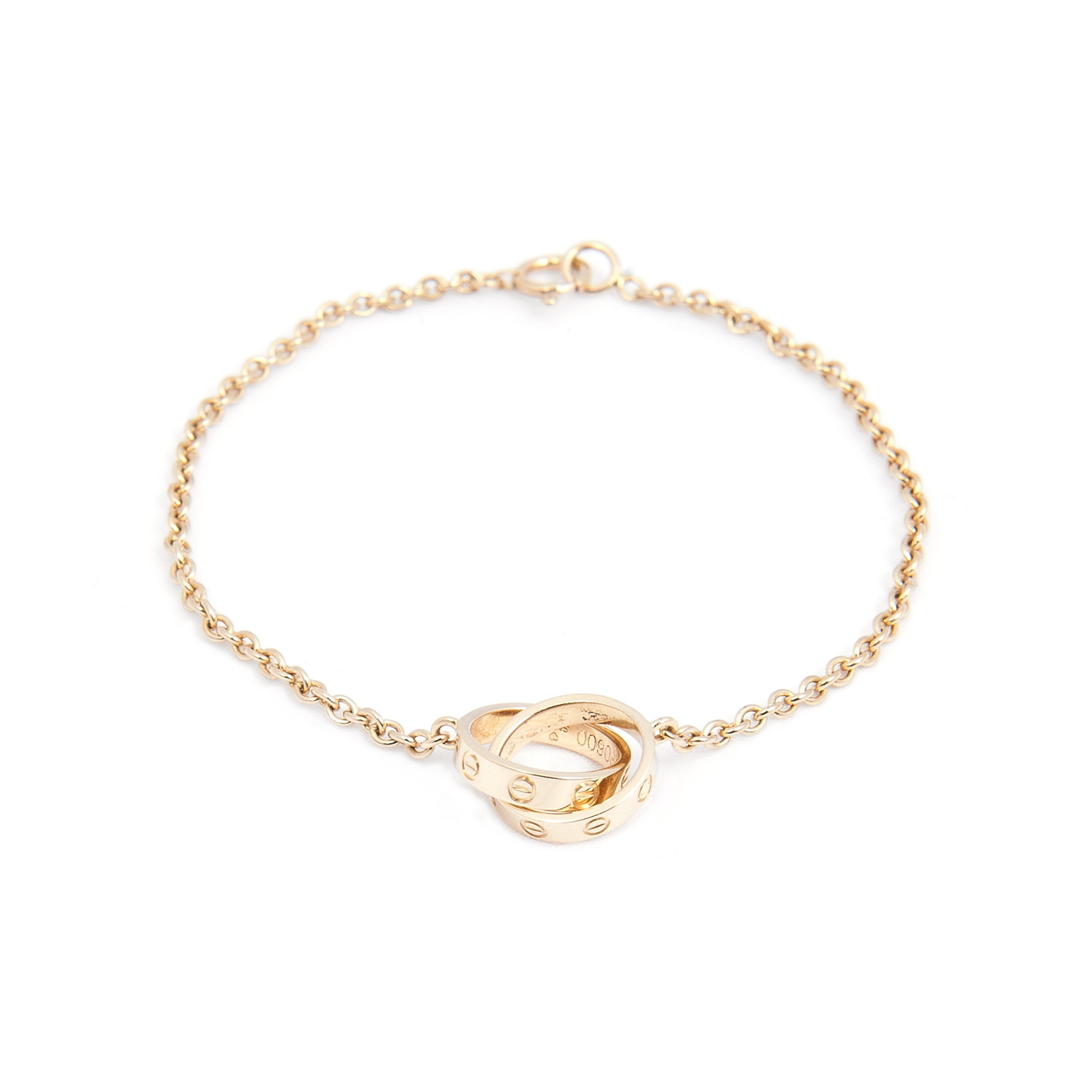 8c589a8d0 507a30aead0ba4ab95074019302adadd medium. Cartier 18K Rose Gold Chain Link  Baby Love Bracelet
