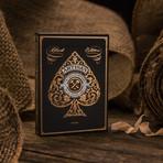 Artisan Playing Cards // Black // Set of 2