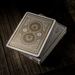 Artisan Playing Cards // White // Set of 2