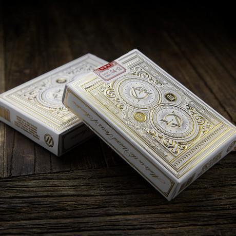 Artisan Playing Cards // White // Set of 2