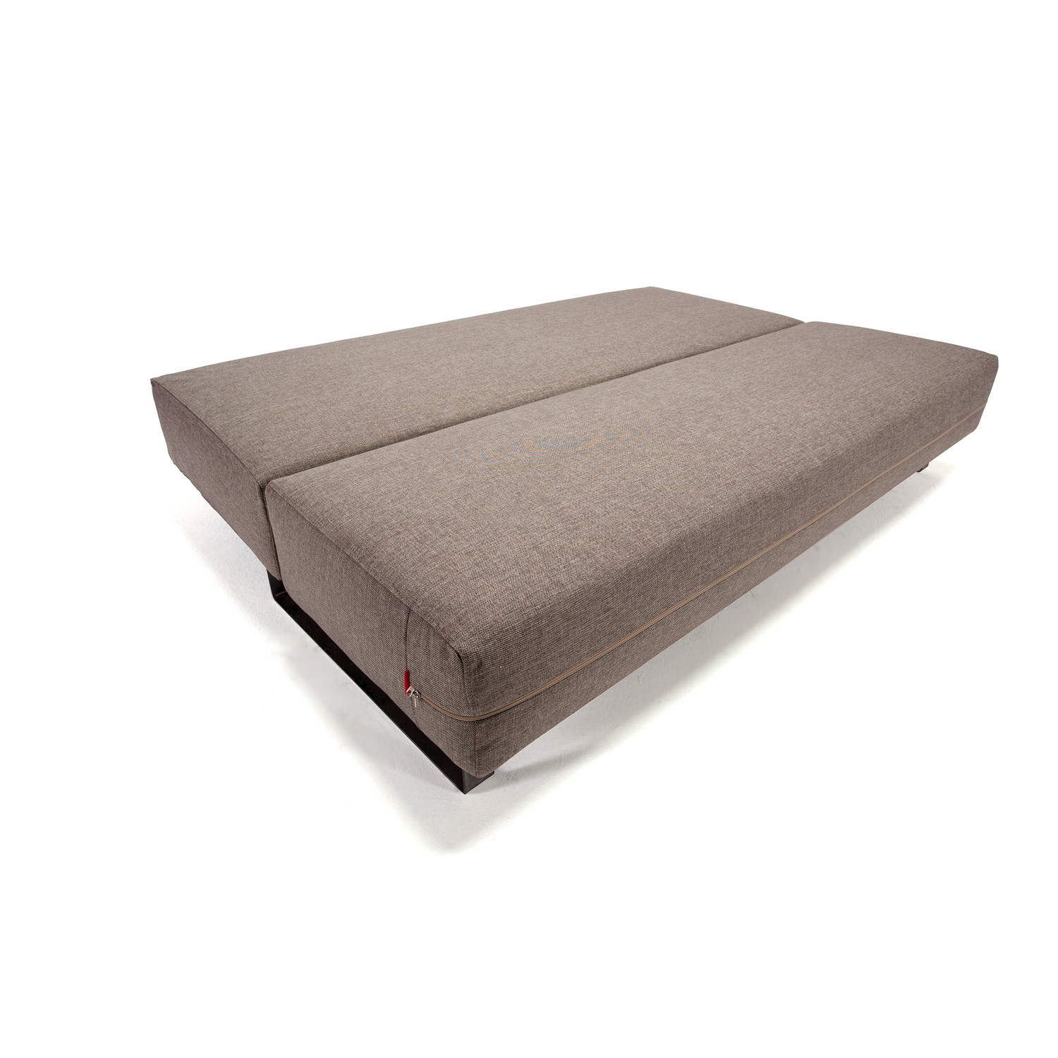Reloader sleek excess sofa full mixed dance brown for Innovation sofa cover