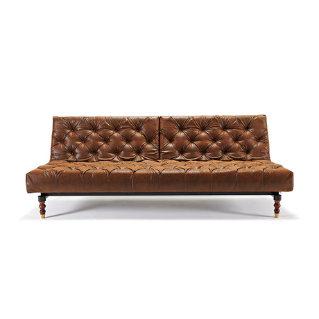 Innnovation Showroom // Old School Sofa // Retro (Vintage LT black/brown)