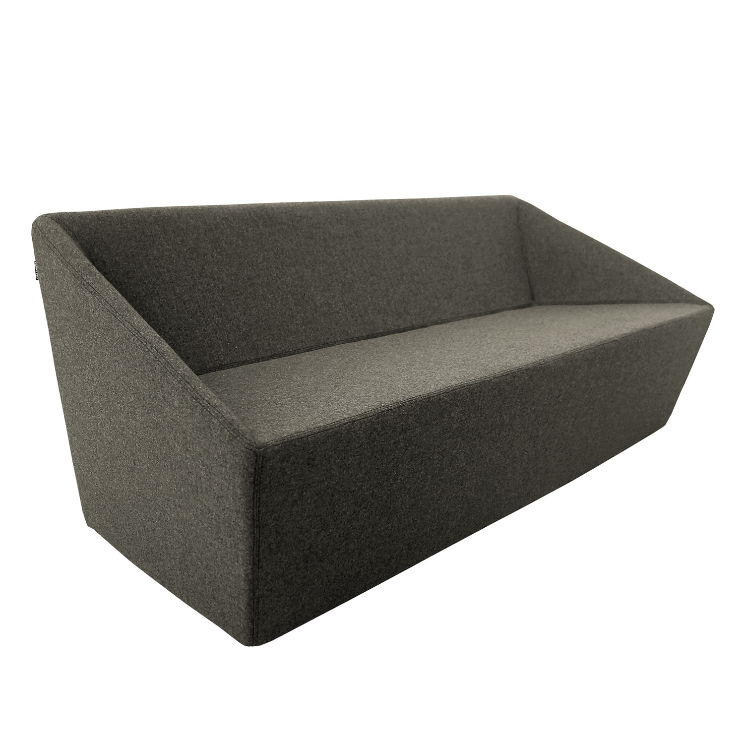 Poly Sofa 48 Length Black Nolen Niu Touch Of Modern