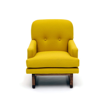 Melinda Chair (Mustard Wool)