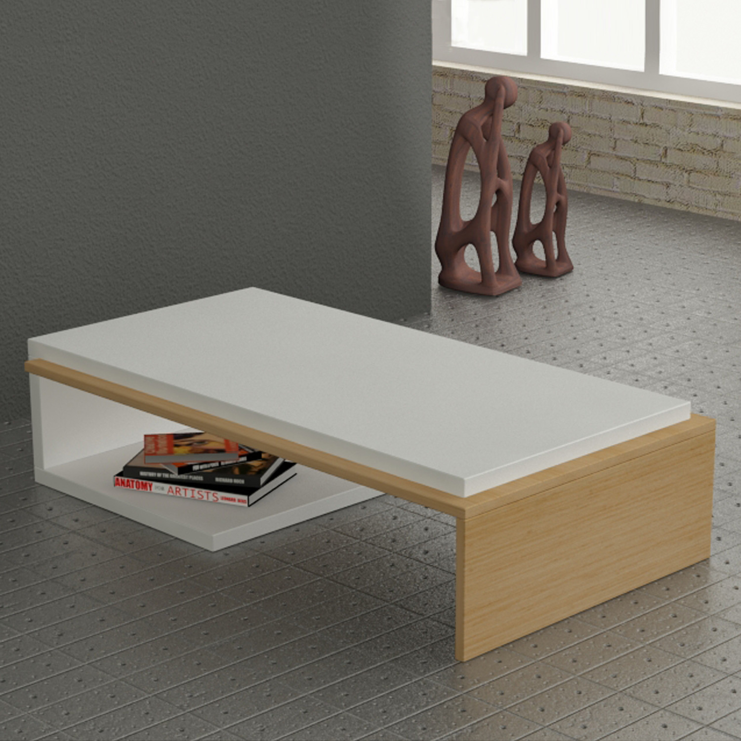 Bend coffee table wenge the turkish table collection touch of modern Collectors coffee table