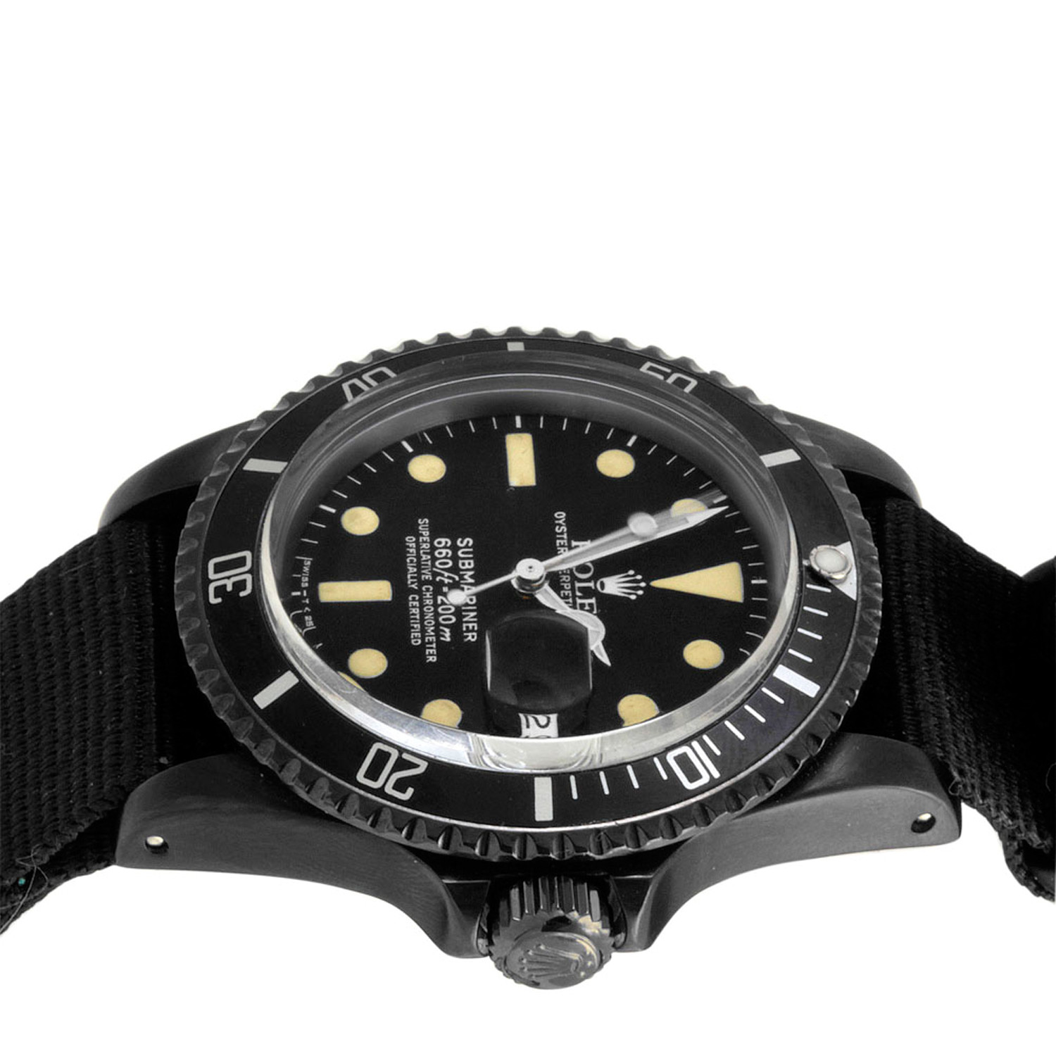 W Dlc Coating Rolex Submarine...
