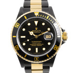W Dlc Coating Rolex Two-Tone Submari...