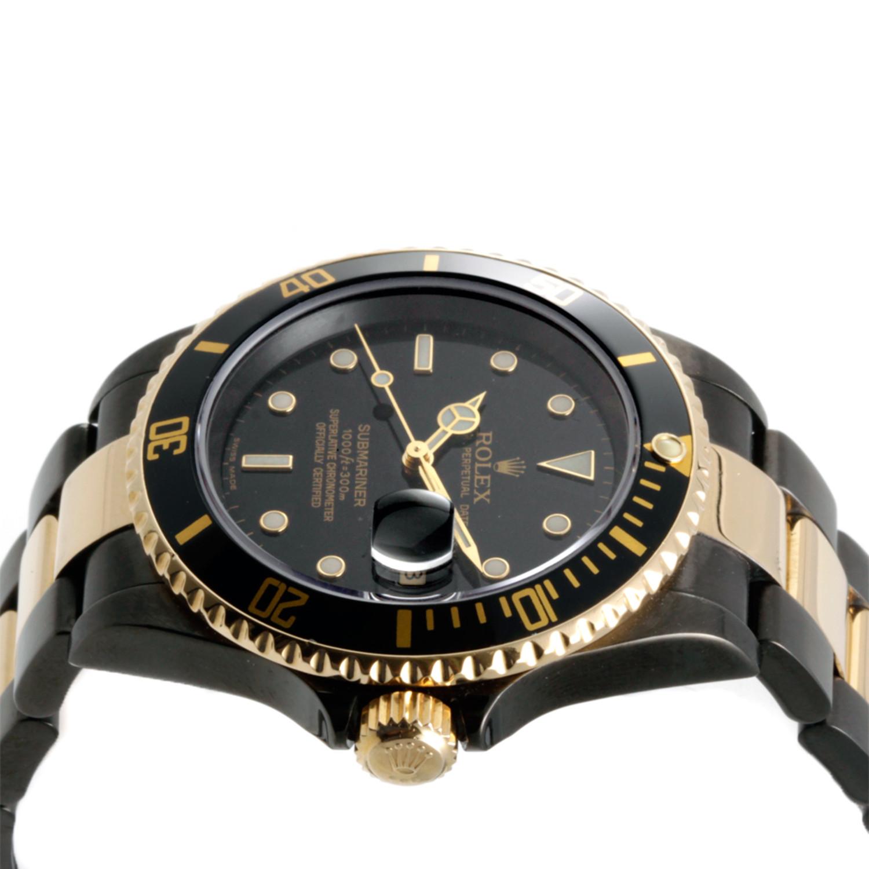 W Dlc Coating Rolex Two-Tone Submari...