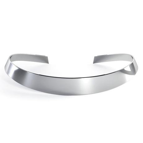 Minimal Choker // Sterling Silver