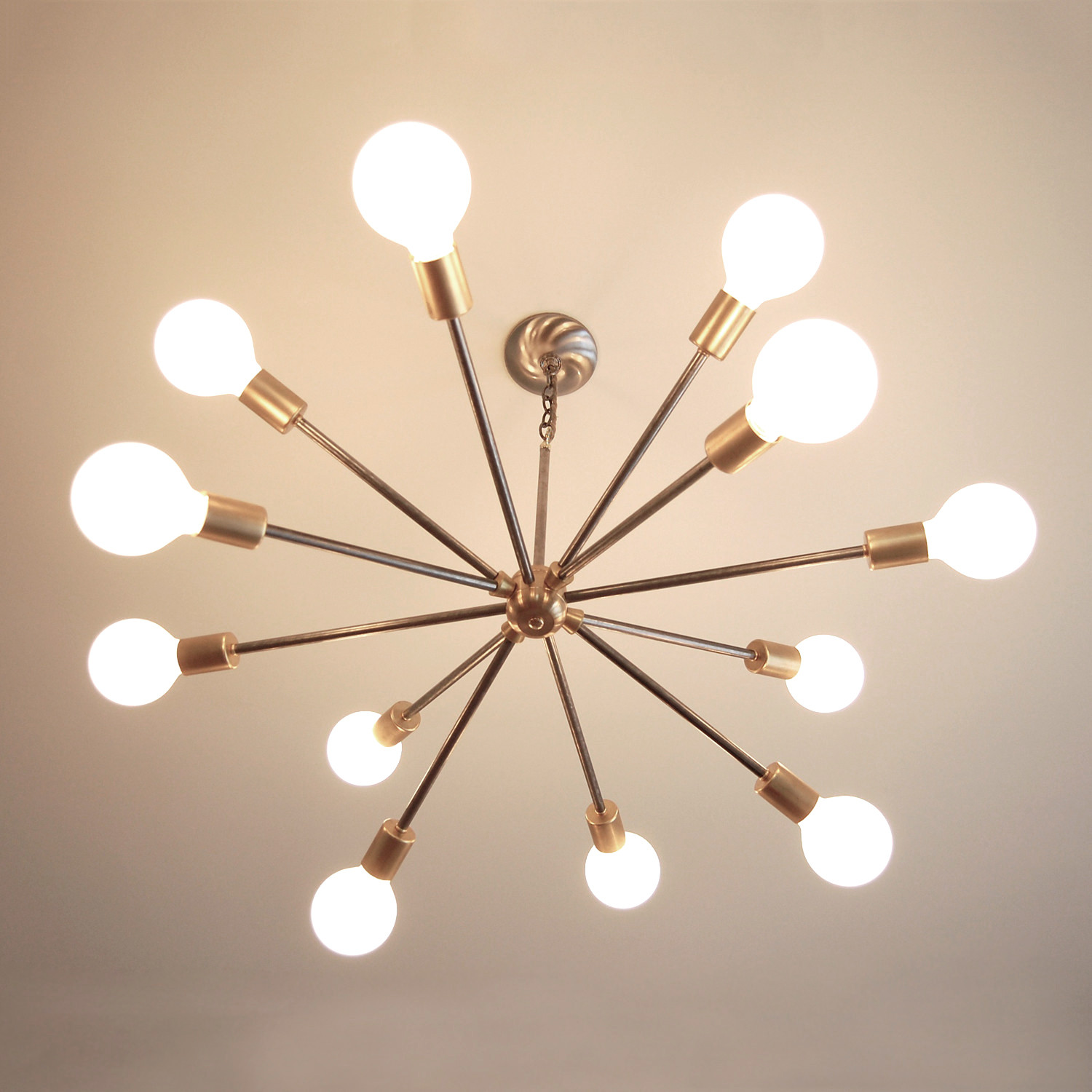 Mid century sputnik inspired chandelier southern lights electric mid century sputnik inspired chandelier aloadofball Images