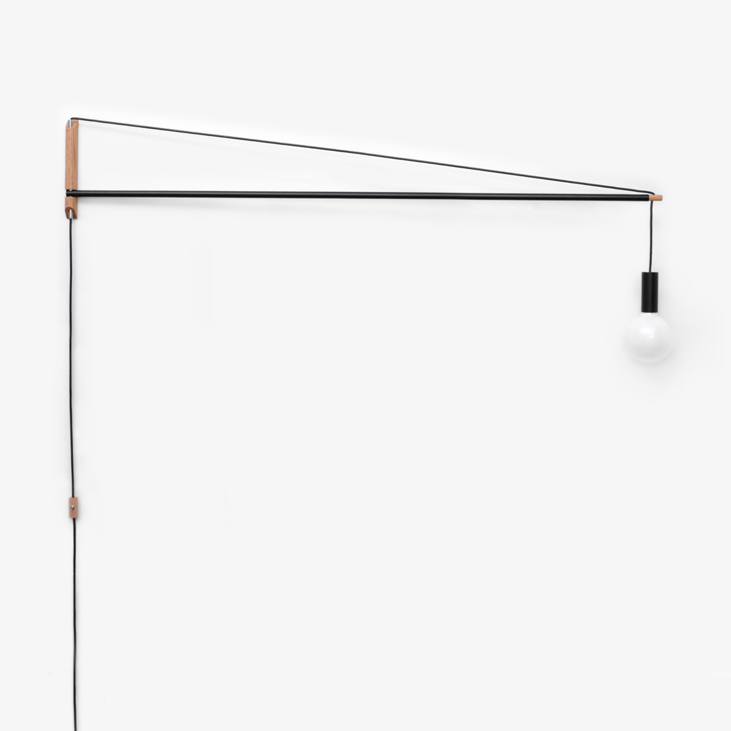 crane light      black  3 feet  - andrew neyer