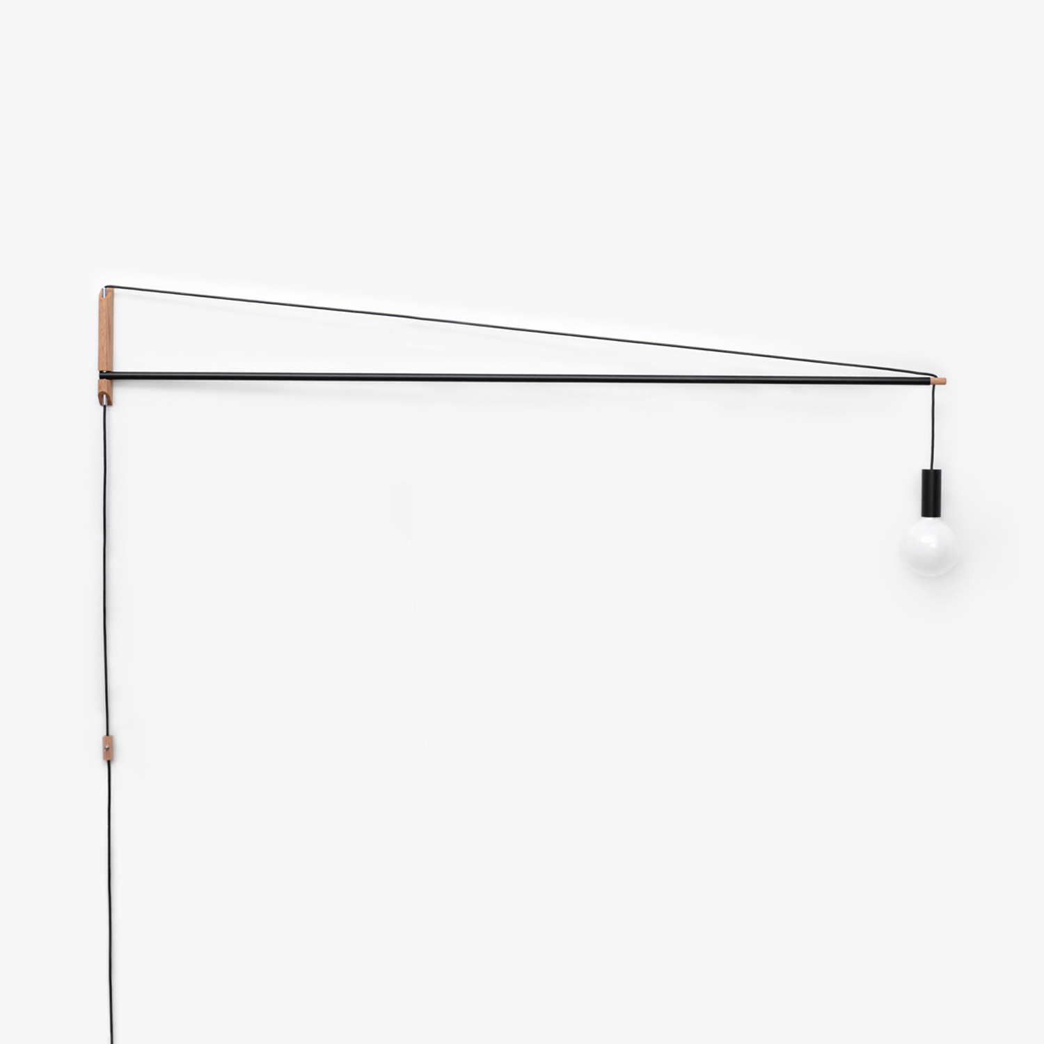 Crane Light Black 3 Feet Andrew Neyer Touch Of Modern