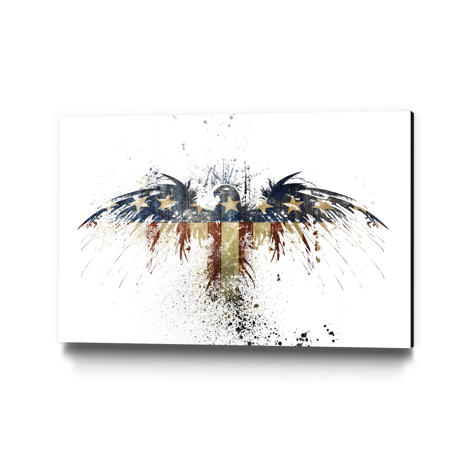 eagles become museum mounted canvas alex cherry touch of modern